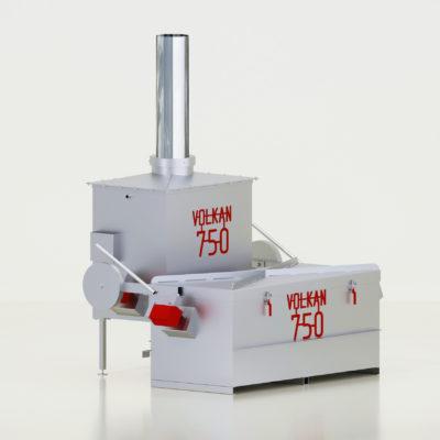 Вулкан 750 с прямоугольным отводом вид1